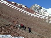 Pamirs Peak Lenin trekking