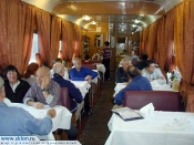 The restoran in the train